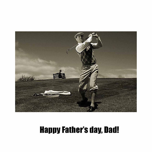 Father's day - Vintage golf