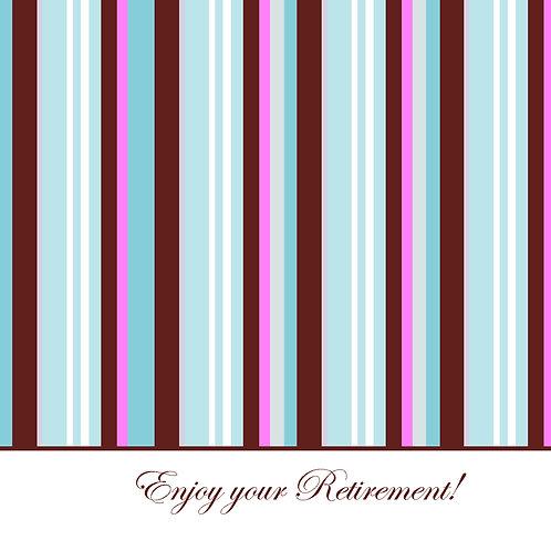 retirement - simple stripes