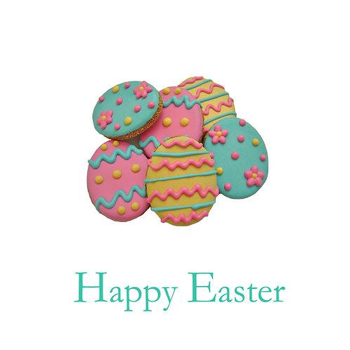 Easter - shortbread egg cookies