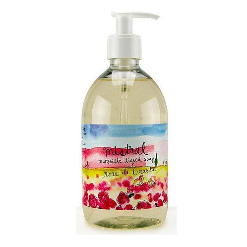 Rose de grasse sur la route liquid hand soap