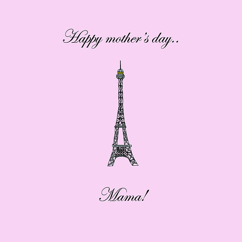 mother's day - Eiffel tower