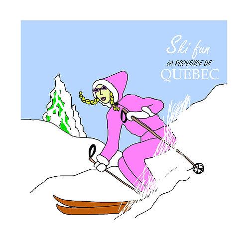 Vintage Ski (Ski fun Quebec)