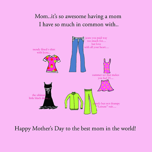 mother's day - clothes