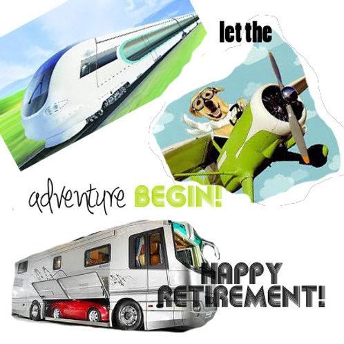 retirement - adventure begins!