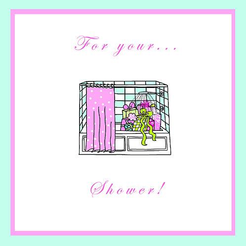 wedding shower - bathtub