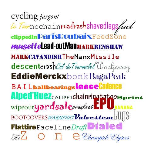 cycling - cycling jargon