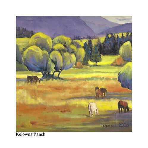 Kelowna ranch - Helen Ott