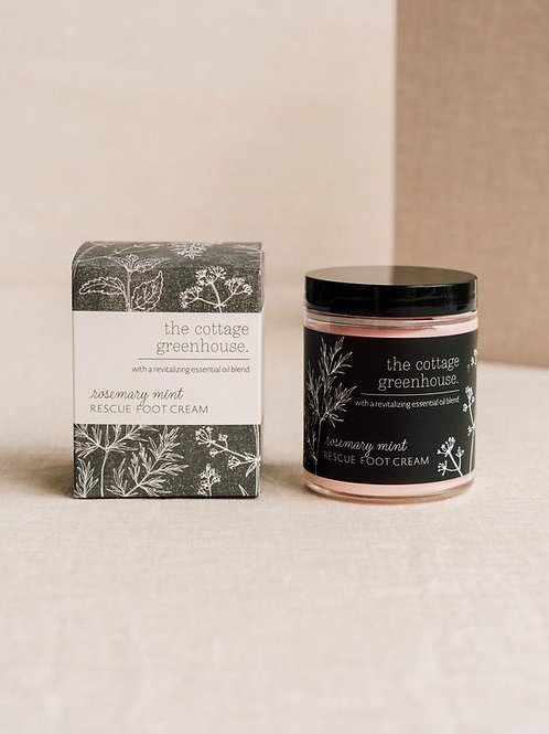 Cottage Greenhouse - Rosemary mint foot cream