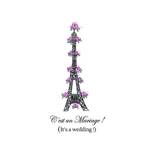 wedding - Eiffel
