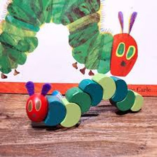 The Very Hungry Caterpillar flexible wooden blocks toy