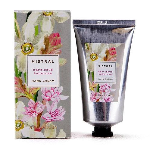 Mistral Exquisite florals Narcissus & Tuberose hand creme