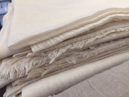 Soft bamboo scarves (creme)