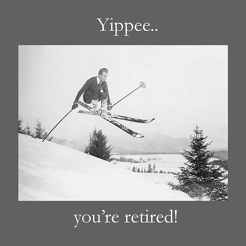 retirement - retro ski jump