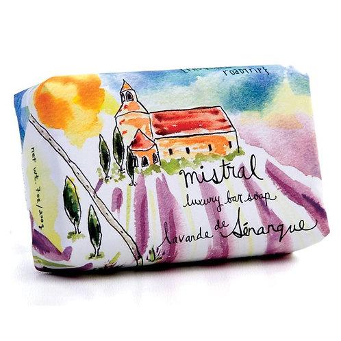Senanque lavender Surla route soap
