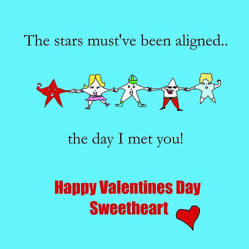 Valentines - stars aligned