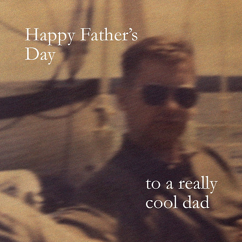 Father's day - cool dad