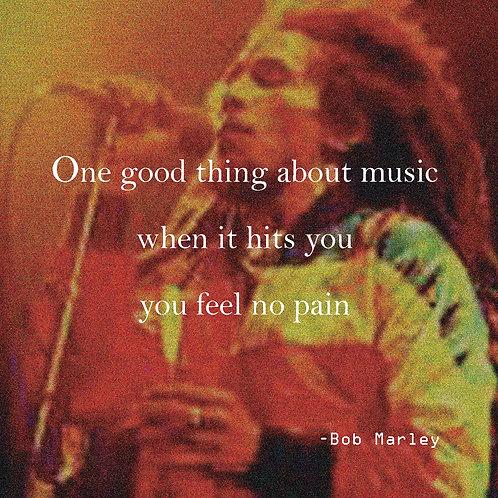 Bob Marley - no pain