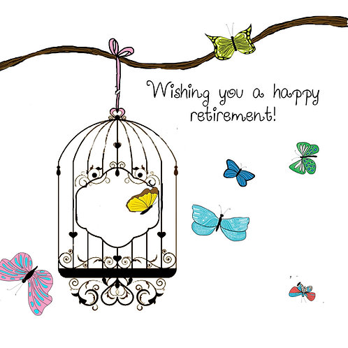 retirement - butterfly cage