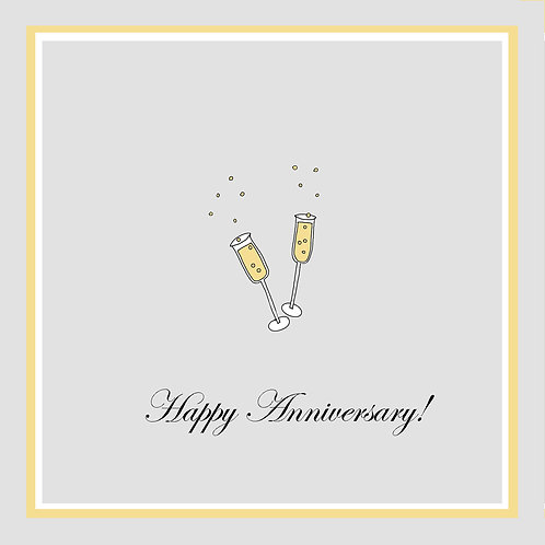 Ann. to couple - champagne