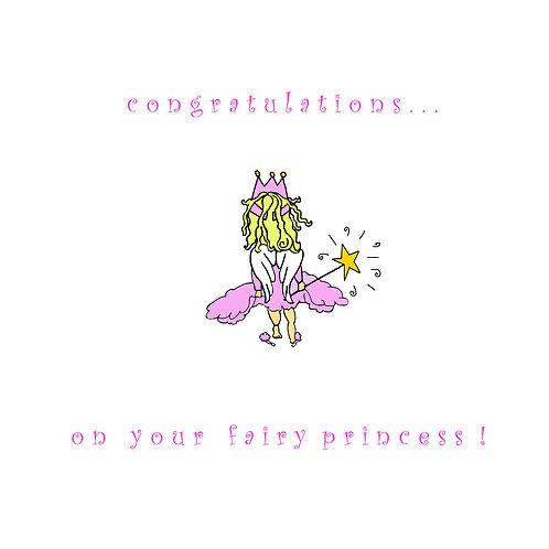 baby girl - fairy princess