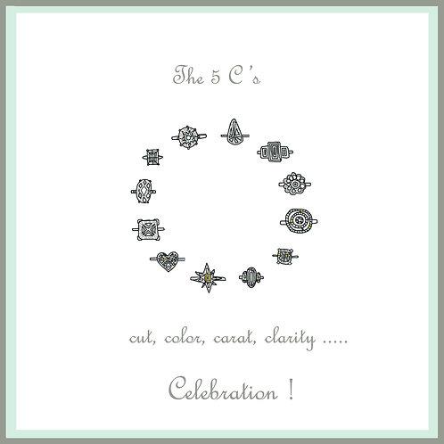 wedding engagement - The five Cs