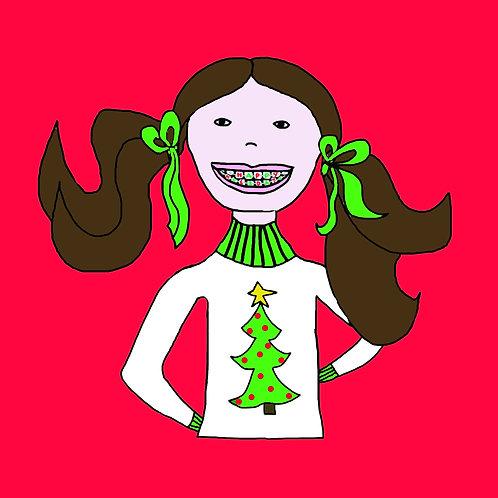 Happy Holidays braces