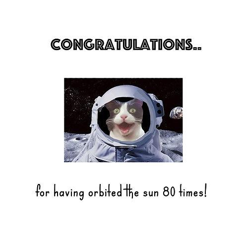 Orbit 80th