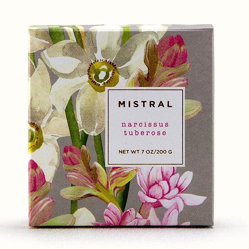 Mistral Exquisite florals Narcissus Tuberose gift soap
