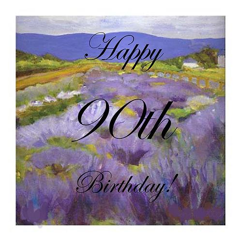 90th Lavender Kelowna- Helen Ott