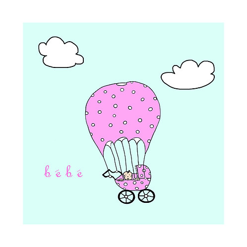baby - parachute pram (bebe)