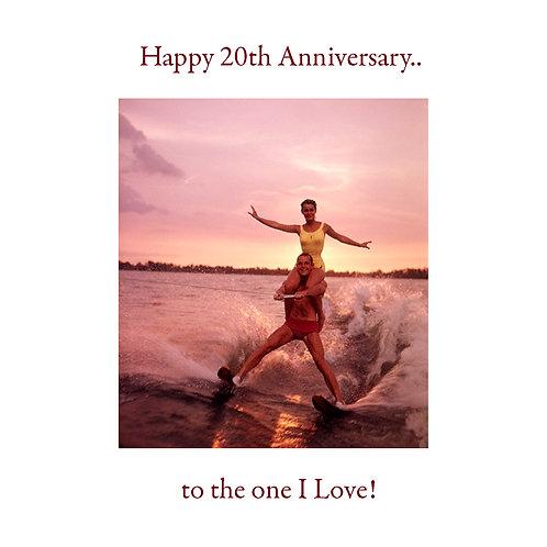 milestone Ann. - 20th (waterski)