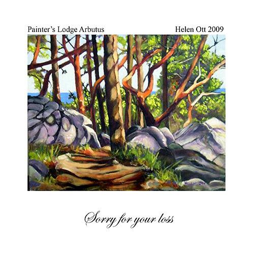 sympathy - Painter's lodge arbutus (Helen Ott)