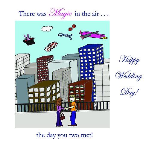 wedding - magic in the air
