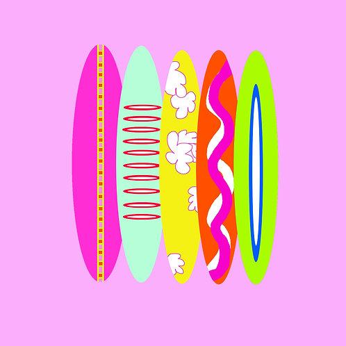 surf - pink