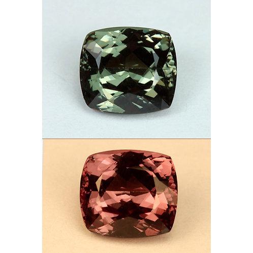 Color Change Garnet - 2.45 Cts - Loose Natural Gemstone - Cushion