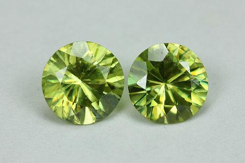1.62 TCW - Sphene Loose Natural Gemstones - Round