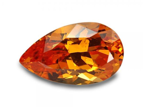 2.31 Cts - Spessartite Garnet Loose Natural Gemstone - Pear Shape