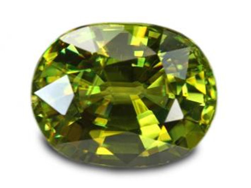 3.60 cts - Sphene Loose Natural Gemstone - Oval