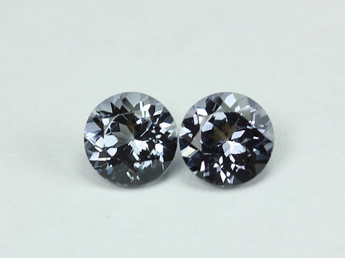 1.95 TCW - Spinel Loose Natural Gemstones - Round Pair