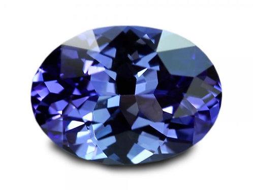 1.90 cts - Tanzanite Loose Natural Gemstones - Oval Shape