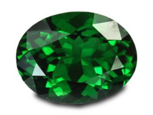 1.60 Cts - Chrome Tourmaline Loose Natural Gemstone - Oval Shape