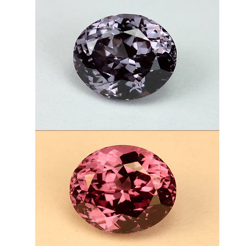 Color Change Garnet - 3.05 Cts - Loose Natural Gemstone - Oval