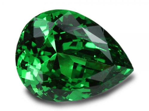 2.25 Cts - Tsavorite Garnet - Loose Natural Gemstone - Pear Shape