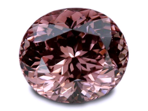 4.70 Cts - Malaya Garnet Loose Natural Gemstone - Oval Shape
