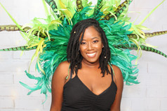 Green Carnival Costume