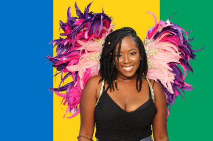 Rep your flag for Carnival and snap a pic in Toronto with Facetival Photo Booth