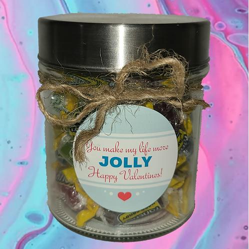 Jolly Rancher Valentines Day Jar