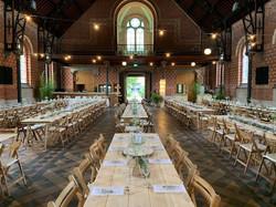 Woodfest Events tafels