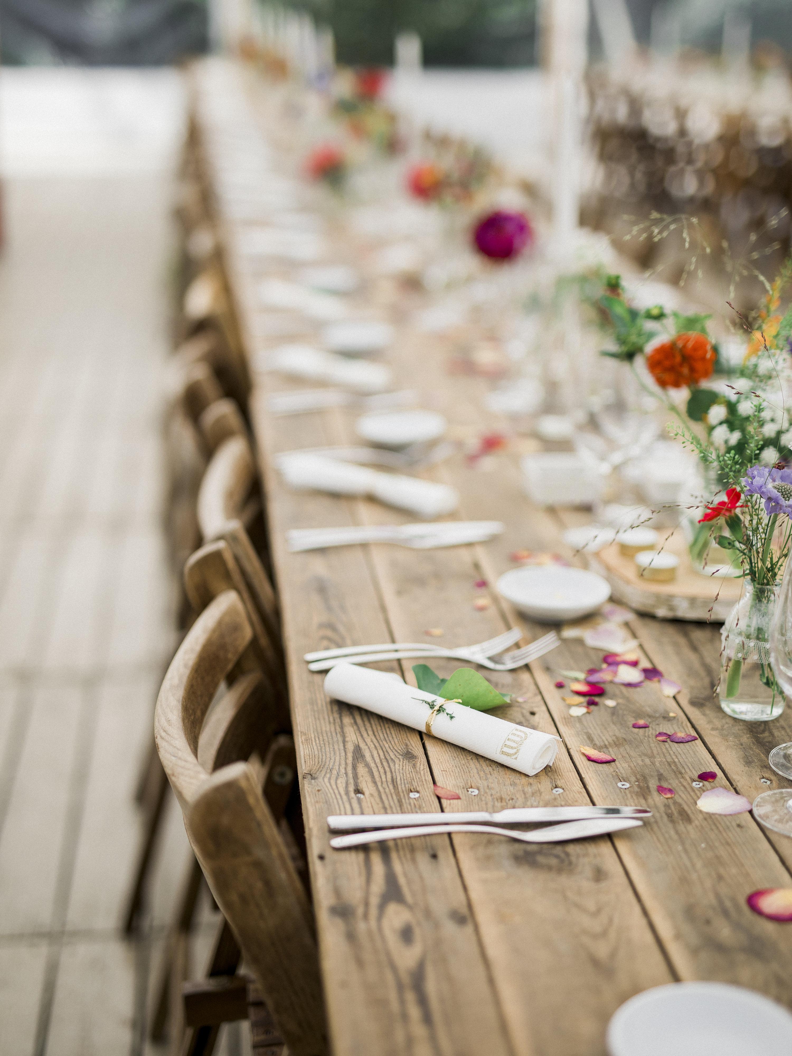 Barnwood tafels