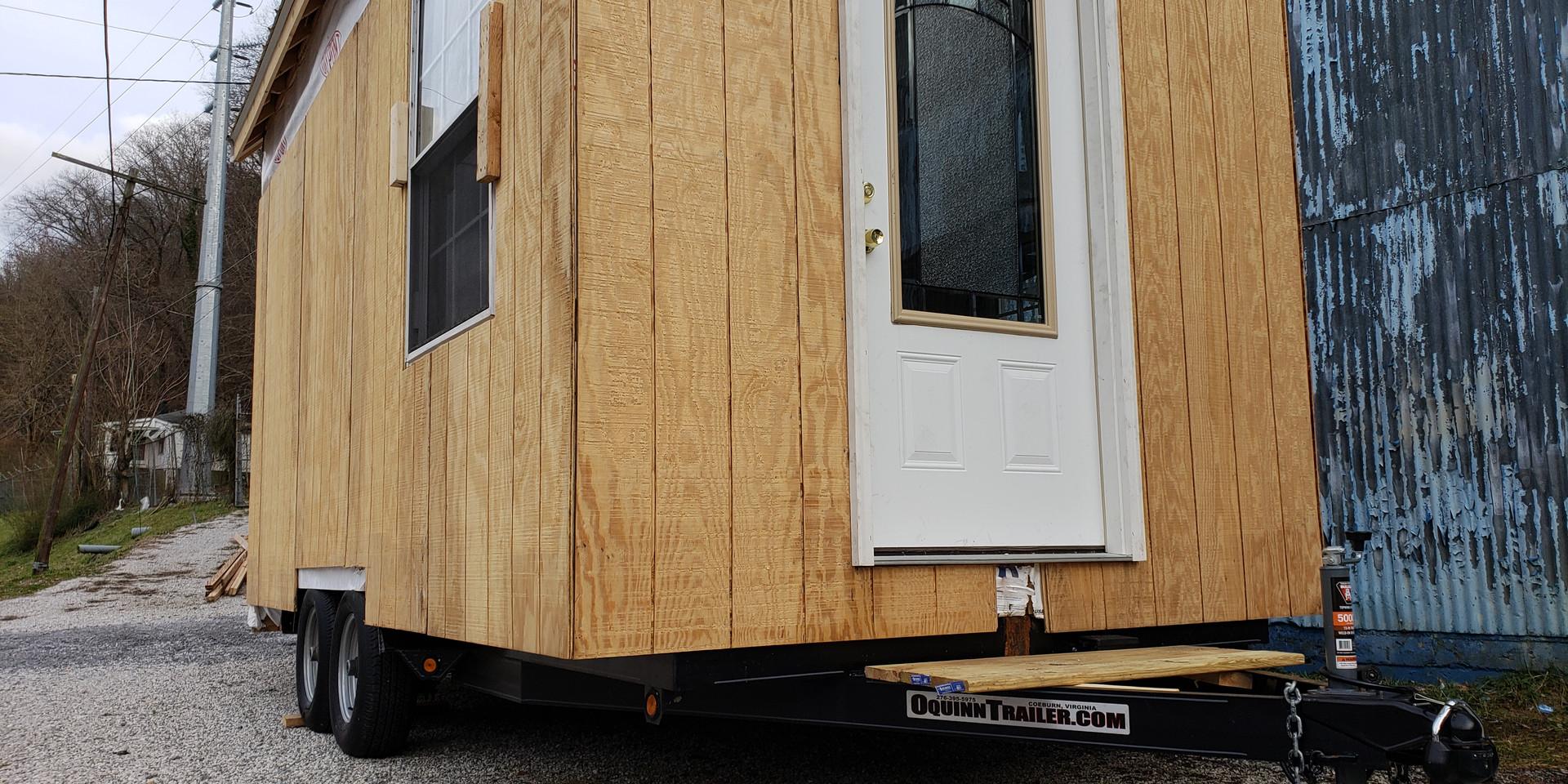 Work-in-progress Tiny House